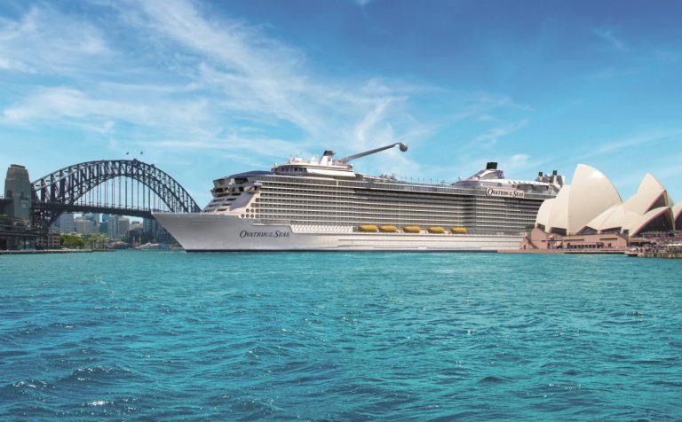 Ovation of the Seas-Sydney Harbour-CruisePassenger.com.au