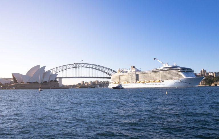 Ovation of the Seas, Sydney