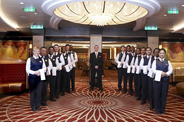 cruise crew on board royal caribbean
